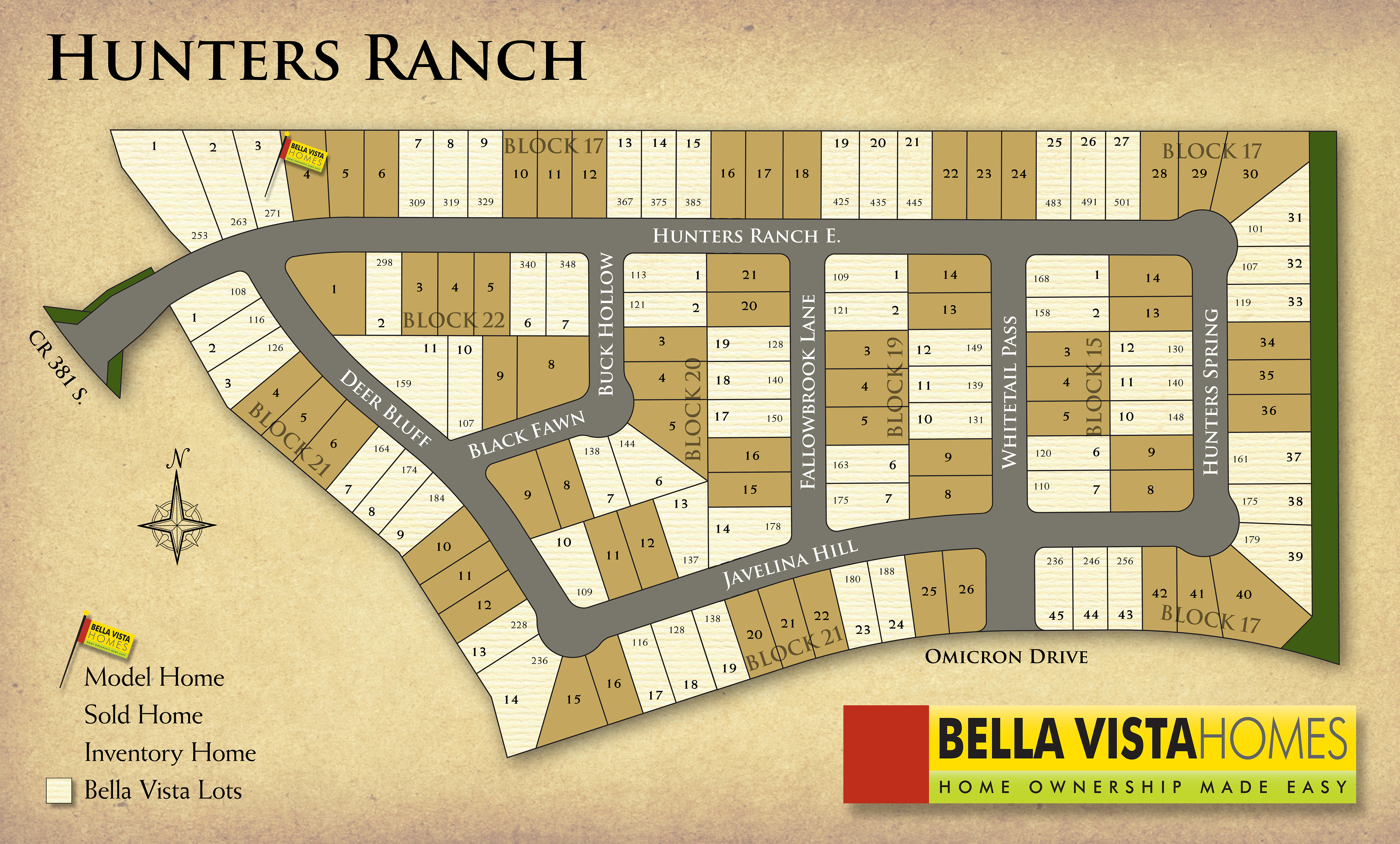 San Antonio, TX Hunters Ranch New Homes